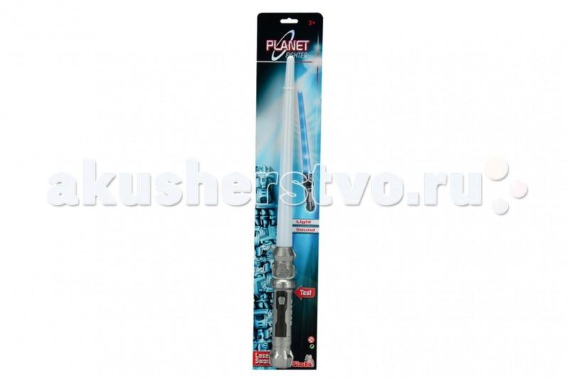 Игрушечное оружие Simba Световой меч Planet fighter (свет, звук) 57 см игрушечное оружие simba световой меч planet fighter свет звук 57 см
