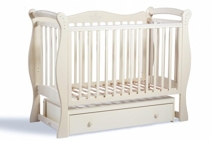 Фото 4 - Детская кроватка Baby Luce Лучик универсальный маятник