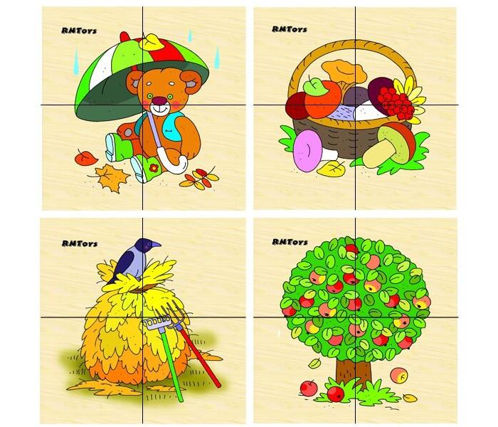 Деревянные игрушки RNToys Осень