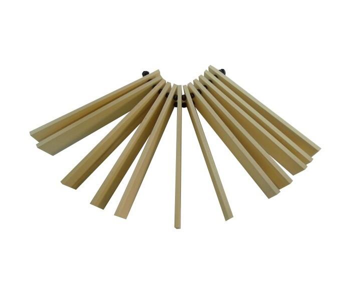 Деревянные игрушки RNToys Трещотка веерная