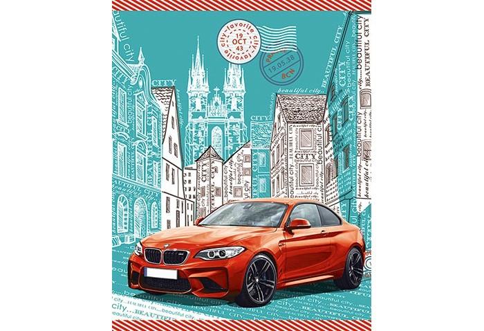 Тетради Апплика Тетрадь на кольцах Красный автомобиль клетка А5 (120 листов)