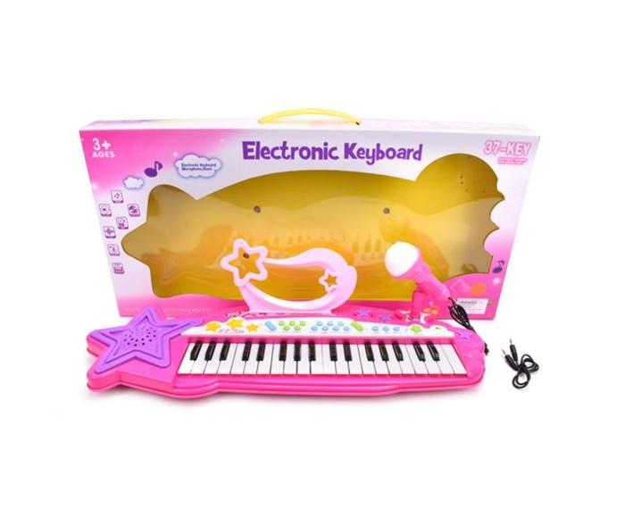 Картинка для Музыкальные инструменты Наша Игрушка Синтезатор Little Star 37 клавиш