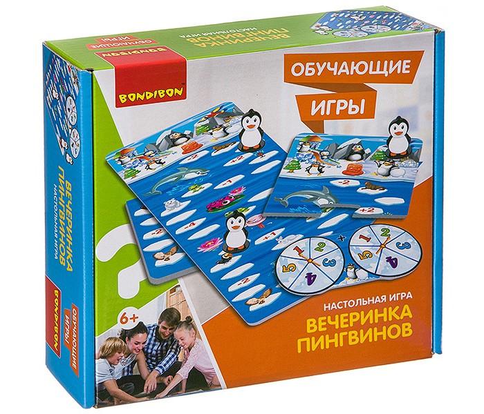 Купить Настольные игры, Bondibon Настольная игра Вечеринка пингвинов