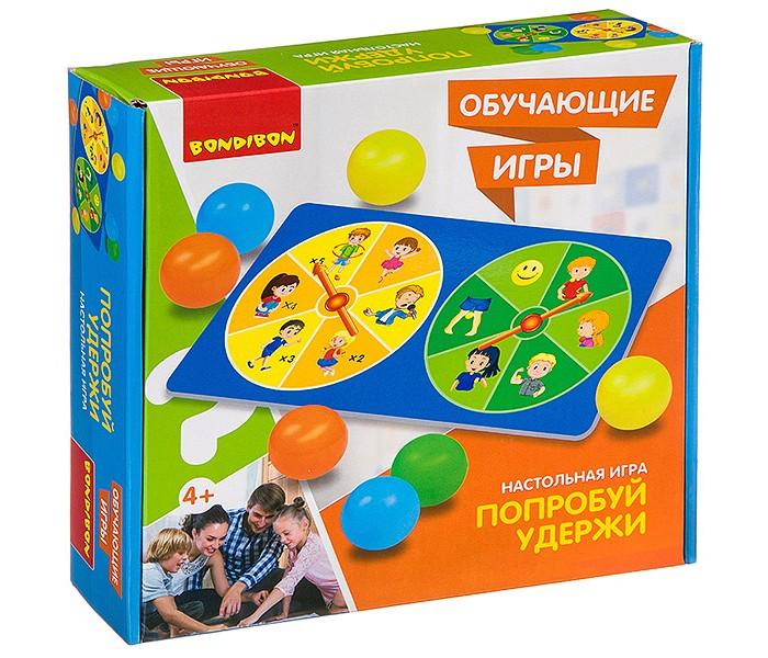 Настольные игры Bondibon Настольная игра Попробуй удержи