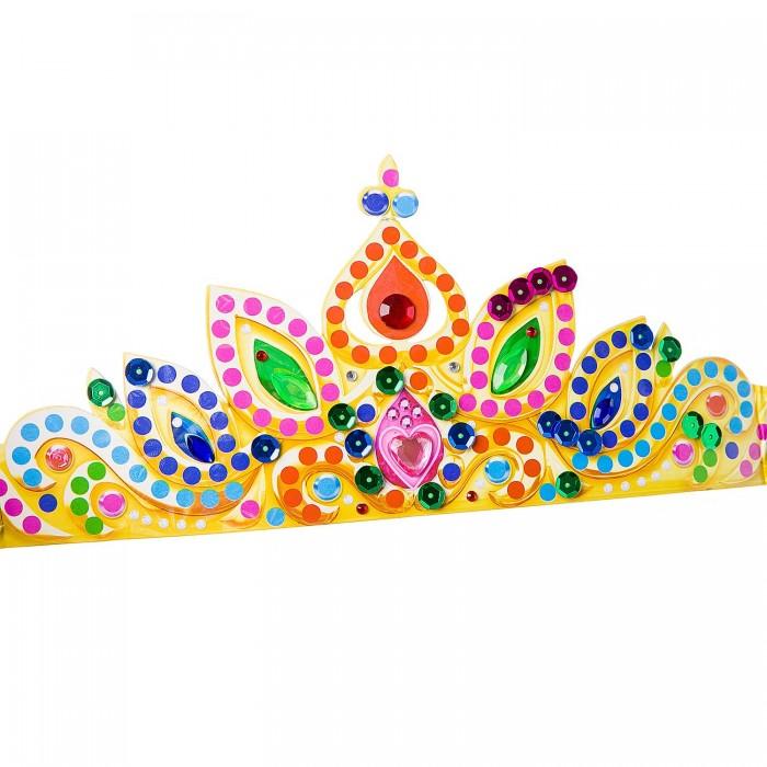 Наборы для творчества Bondibon Набор для творчества Новогодняя тиара принцессы с пайетками и стразами bondibon набор для творчества елочные украшения с пайетками вв1309