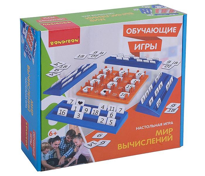 Купить Настольные игры, Bondibon Настольная игра Мир вычислений