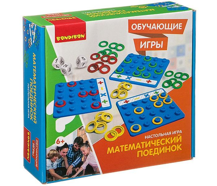 Купить Настольные игры, Bondibon Настольная игра Математический поединок