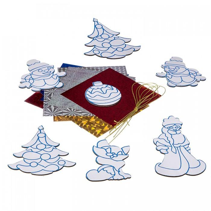 Картинка для Наборы для творчества Bondibon Набор для творчества Ёлочные украшения с 3 D эффектом