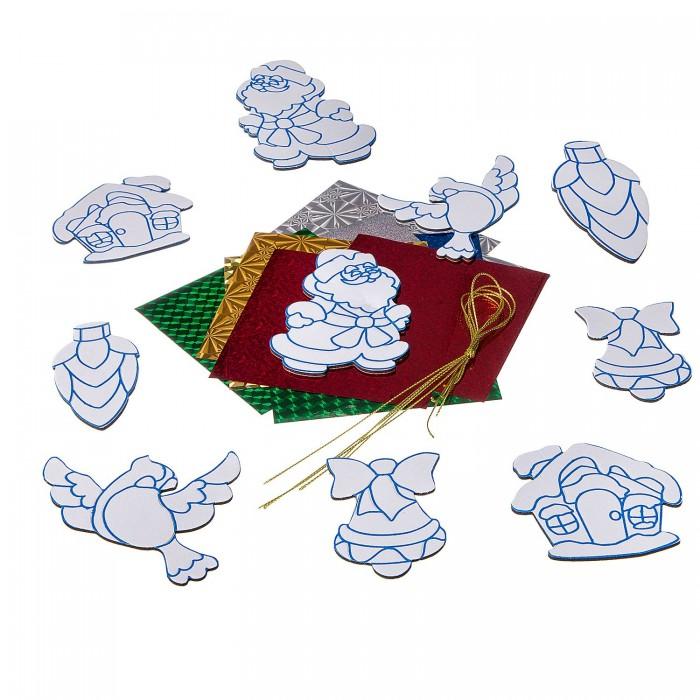 Картинка для Наборы для творчества Bondibon Набор для творчества с Буки Ёлочные украшения с 3 D эффектом