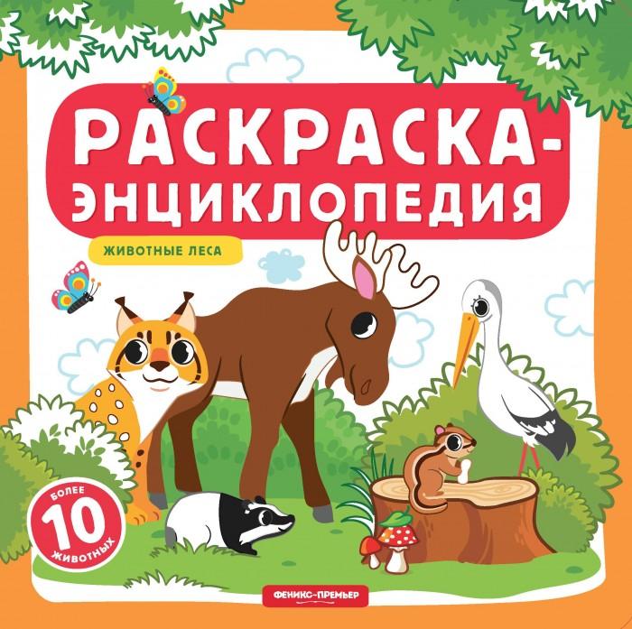 Купить Раскраска Феникс Энциклопедия Животные леса в интернет магазине. Цены, фото, описания, характеристики, отзывы, обзоры