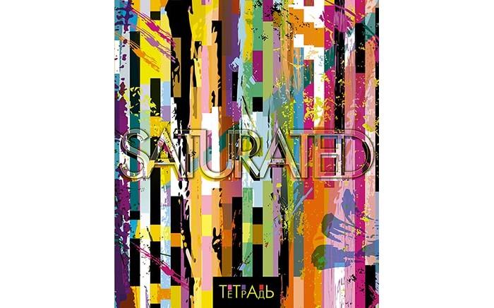 Картинка для Тетради Апплика Тетрадь Полосатый дизайн клетка А5 (48 листов)