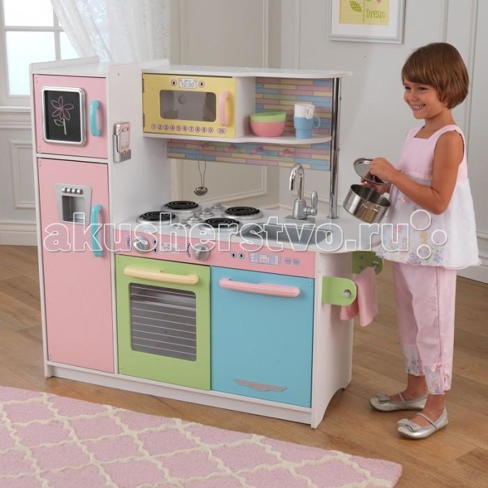 Ролевые игры KidKraft Деревянная кухня для мальчиков и девочек Пастель Espresso лифчики для девочек 10