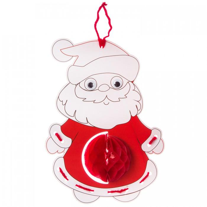 Картинка для Раскраски Bondibon объемная Дед Мороз