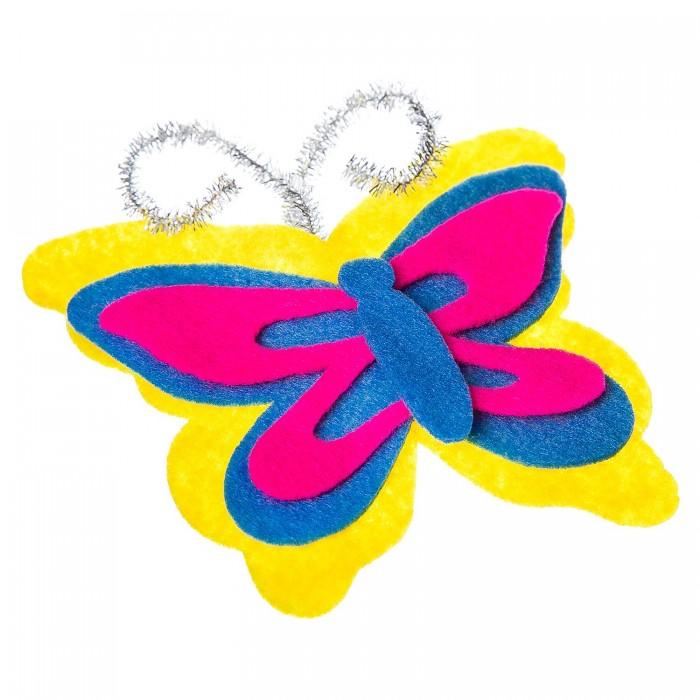 Картинка для Наборы кройки и шитья Bondibon Ёлочные украшения из фетра Бабочка