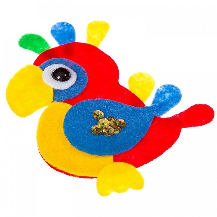 Картинка для Наборы кройки и шитья Bondibon Ёлочные украшения из фетра Попугай