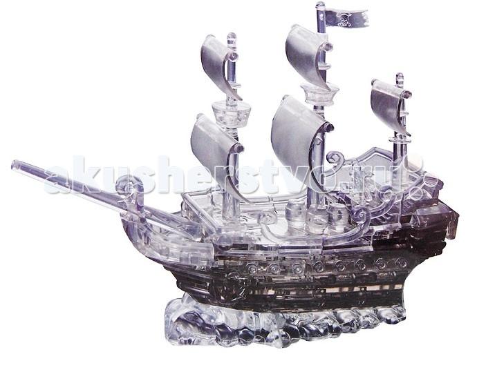 Пазлы Crystal Puzzle Головоломка Пиратский корабль пазлы crystal puzzle головоломка золотая карусель