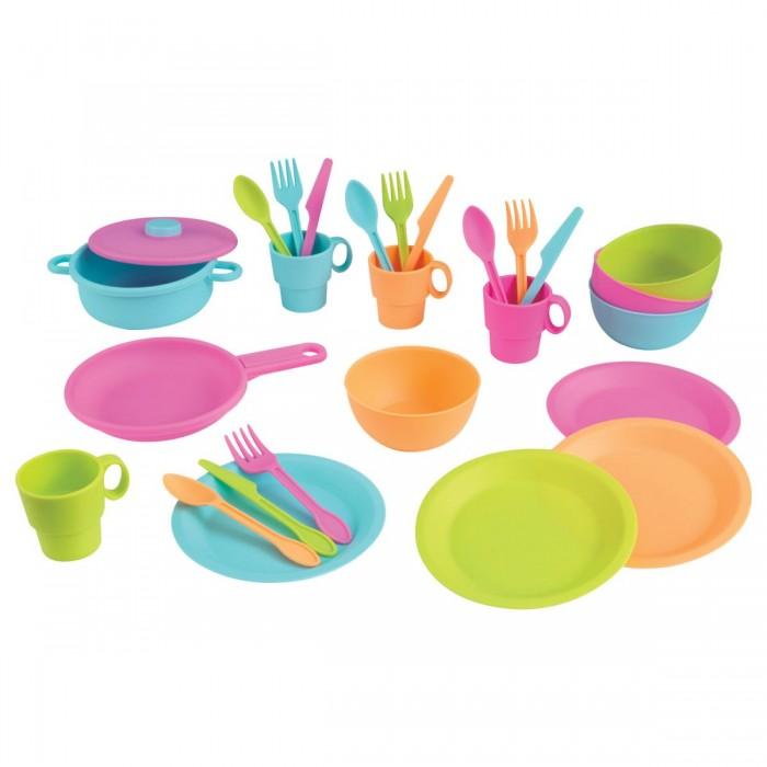 KidKraft Кухонный игровой набор посуды Делюкс