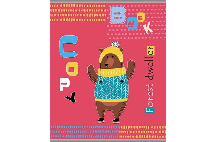 Картинка для Тетради Апплика Тетрадь Мишка в свитере линейка А5 (48 листов)