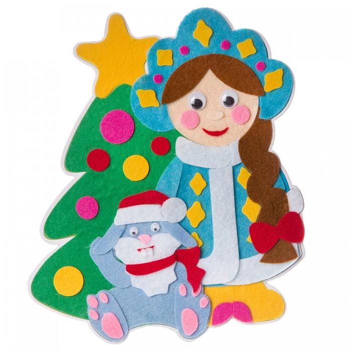Аппликации для детей Bondibon Новогодний коллаж Снегурочка