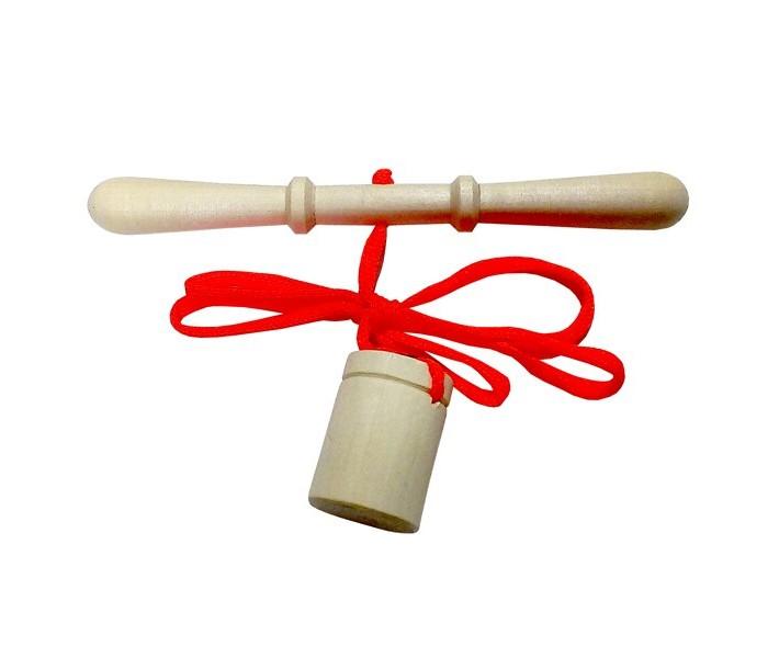 Картинка для Деревянные игрушки RNToys Игра Достань ведерко