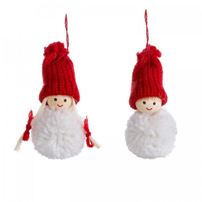 Картинка для Наборы кройки и шитья Bondibon Ёлочные игрушки своими руками Куклы