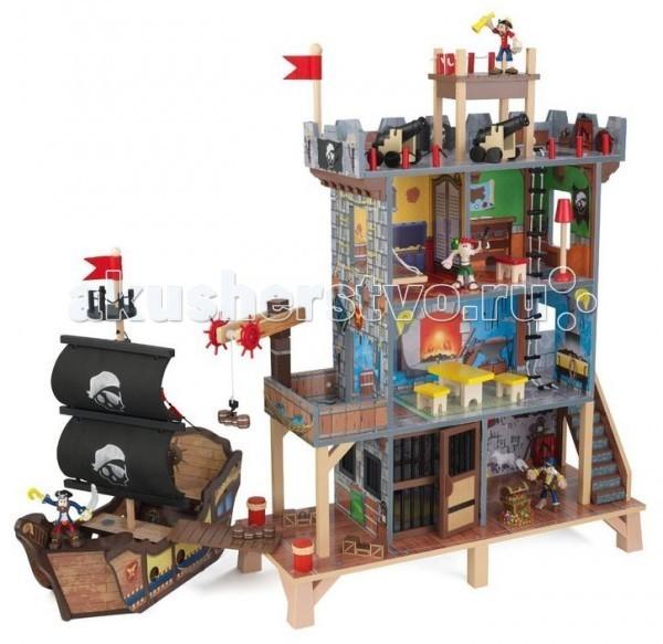 Купить Игровые наборы, KidKraft Набор Пиратский форт