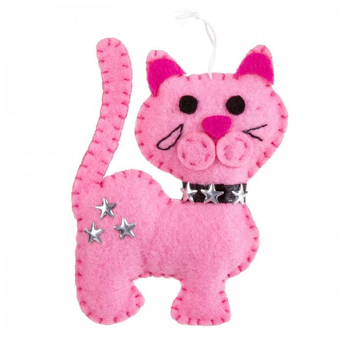 Наборы кройки и шитья Bondibon Ёлочные игрушки из фетра своими руками Кошка