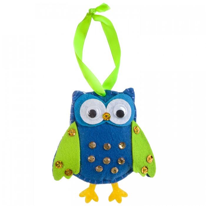 Наборы кройки и шитья Bondibon Ёлочные игрушки из фетра своими руками Сова