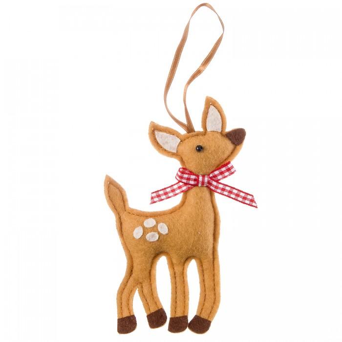 Наборы кройки и шитья Bondibon Ёлочные игрушки из фетра своими руками Олененок