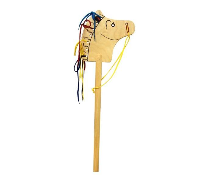 Деревянные игрушки RNToys Лошадка-скакалка