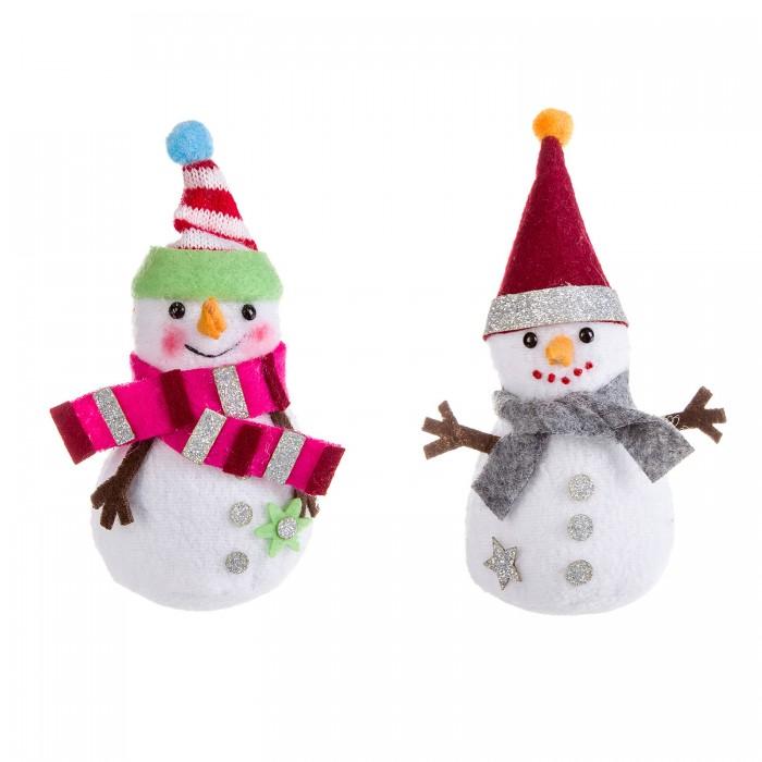 Картинка для Наборы кройки и шитья Bondibon Ёлочные игрушки своими руками Снеговички