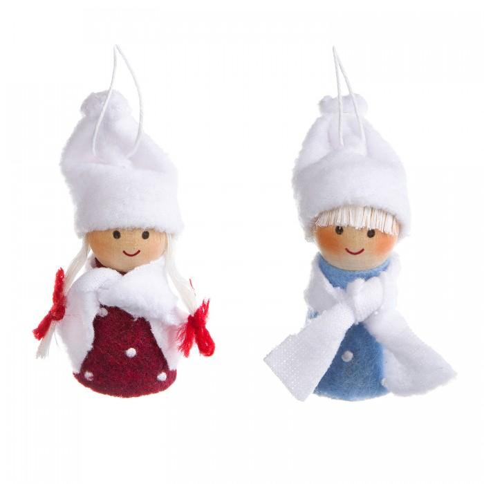 Наборы кройки и шитья Bondibon Ёлочные игрушки из фетра своими руками Куколки