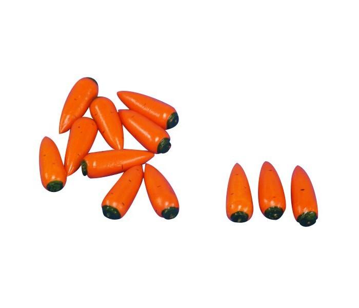Картинка для Раннее развитие RNToys Счетный материал Морковь 12 шт.