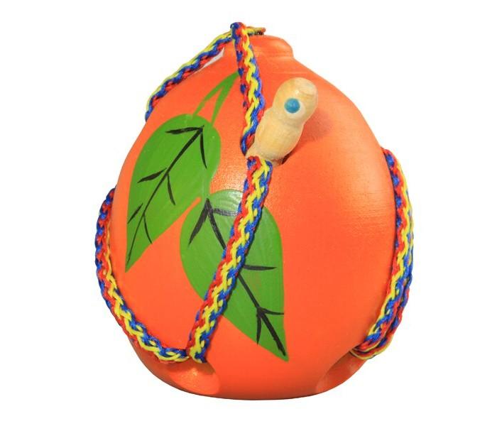 Картинка для Деревянные игрушки RNToys Апельсин шнуровка