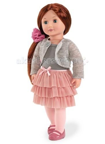 Our Generation Dolls Кукла 46 см Айла в стильной одеждеКукла 46 см Айла в стильной одеждеOur Generation Dolls Кукла 46 см Айла в стильной одежде обладает красивыми длинными волосами каштанового цвета и изумительными голубыми глазами.   На Айлу надета серая кофта и кардиган, розовая трёхъярусная юбка и туфли. Весь комплект прекрасно сочетается между собой, создавая по-настоящему стильный образ.   В набор также входит: майка на бретельках, колготки, нижнее бельё, резинка с цветочком и каталог с вариантами модных нарядов.   Ваша малышка сможет одевать Айлу по собственному вкусу и делать ей замысловатые причёски.<br>