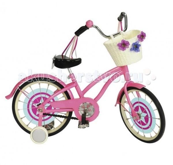 Our Generation Dolls Велосипед для куклы 46 смВелосипед для куклы 46 смOur Generation Dolls Велосипед для куклы 46 см станет лучшим подарком для Вашей любимицы. Все куклы любят проводить активно время со своими друзьями. Еще теплые осенние лучи располагают к спортивным прогулкам на свежем воздухе.   Велосипед оснащен красивым сидением и педальками, которые легко крутить изящными кукольными ножками, а также корзинкой, куда можно положить лакомство и показать миниатюрного щеночка, а также клаксоном с приятным звуковым аккомпанементом. С таким спортивным и красивым агрегатом не одно препятствие не будет страшить! Можно устраивать с подружками гонки и главным призом будет конфета или любимое лакомство, которым следует поделиться с друзьями.   Кукольные велосипеды имеют яркие цветную гамму, которая привлечет внимание ребенка. К тому же подобные игрушечные аксессуары развивать детскую фантазию и умственную активность, ведь нужно придумывать самостоятельно сценарии ролевых игр с подружками и их красочными куколками.<br>