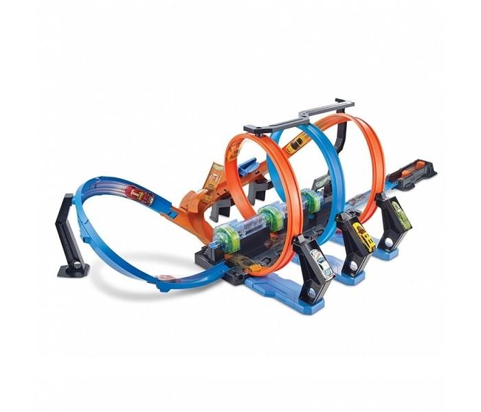 Машины Hot Wheels Игровой набор Винтовое столкновение