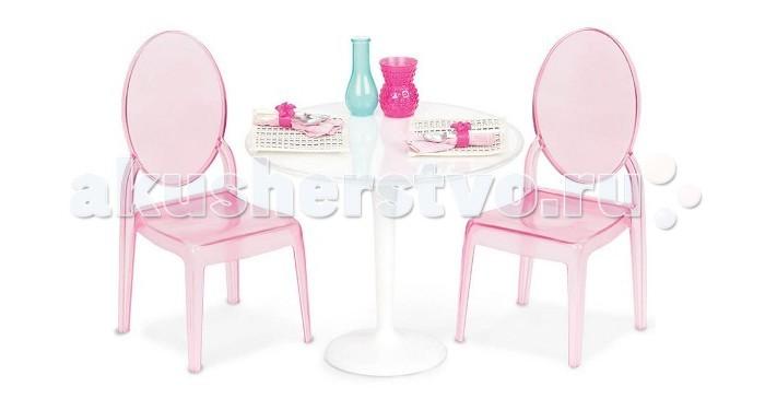 Купить Куклы и одежда для кукол, Our Generation Dolls Набор Стол и два стула для куклы 46 см