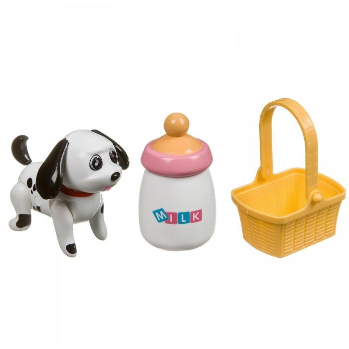 Картинка для Интерактивные игрушки Bondibon Собачка с бутылочкой и корзинкой