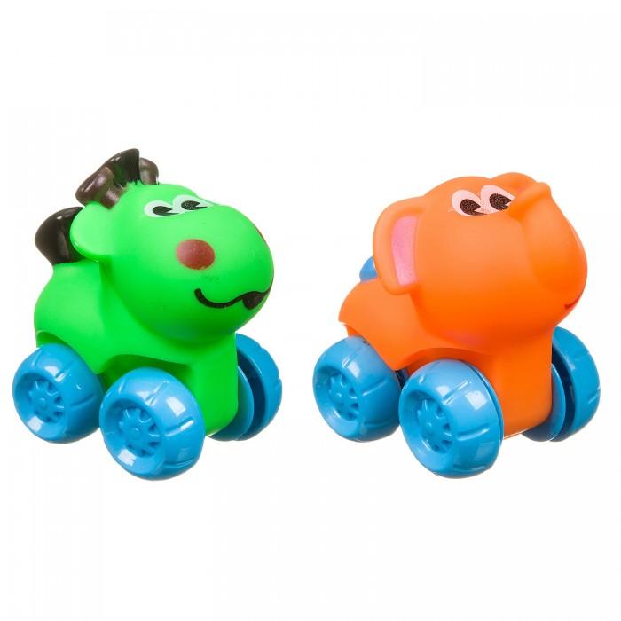 Картинка для Развивающие игрушки Bondibon Слон и лошадка на колесах
