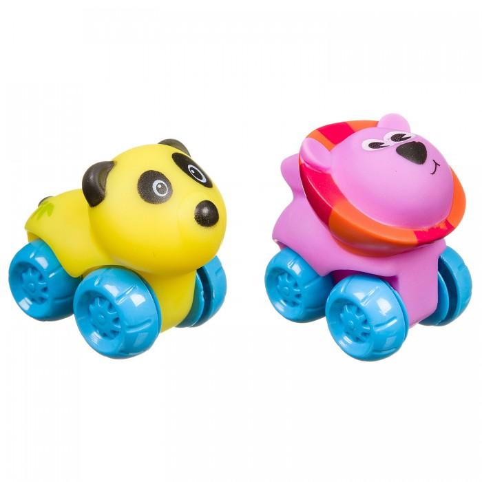 Картинка для Развивающие игрушки Bondibon Панда и лев на колесах