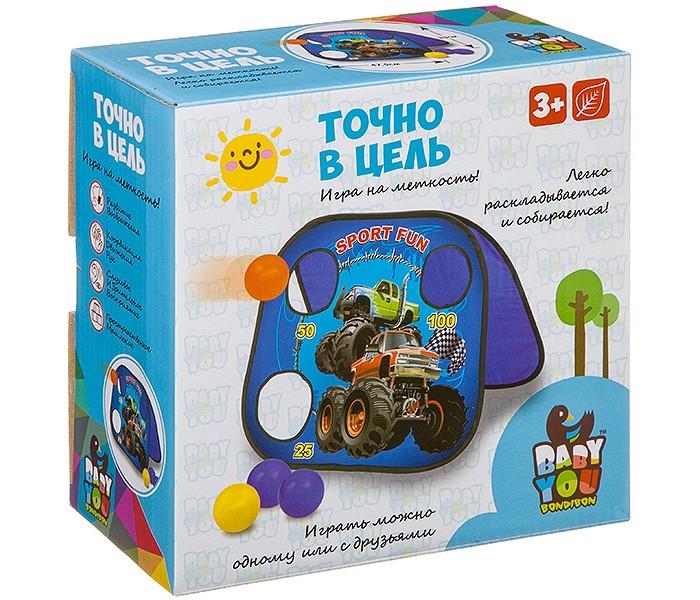 Картинка для Игры для малышей Bondibon Активная игра Точно в цель