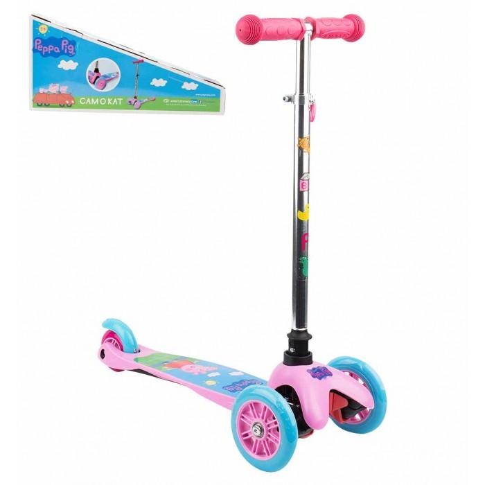 Купить Трехколесный самокат 1 Toy Peppa в интернет магазине. Цены, фото, описания, характеристики, отзывы, обзоры