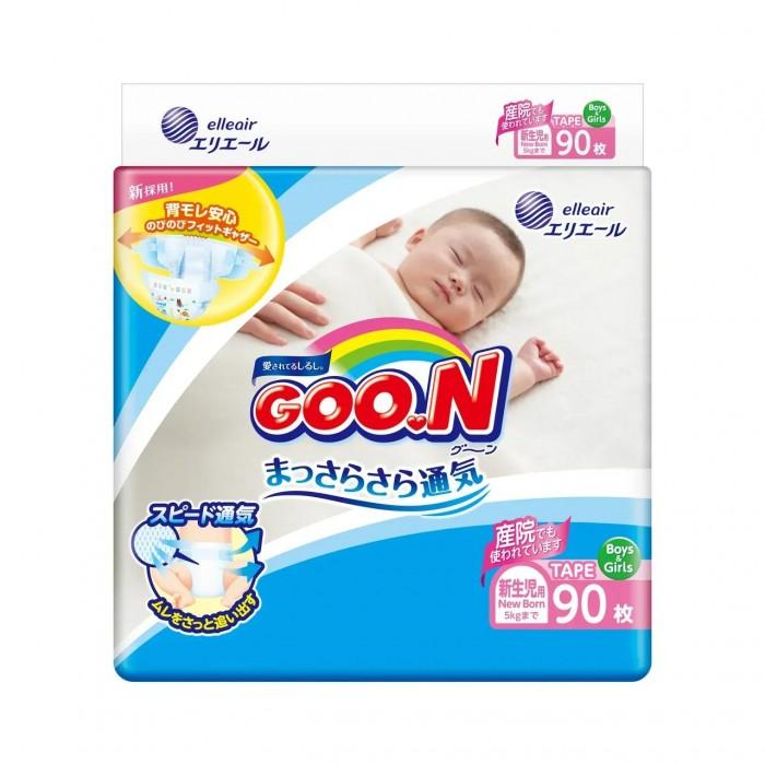 GooN Подгузники NB (0-5 кг) 90 шт.