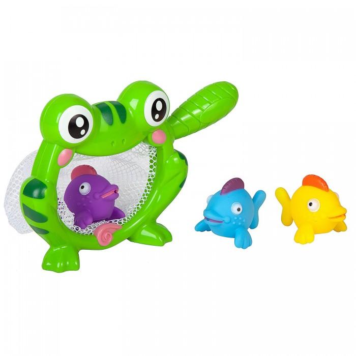 Картинка для Игрушки для ванны Bondibon Игровой набор для купания Лягушка-сачок