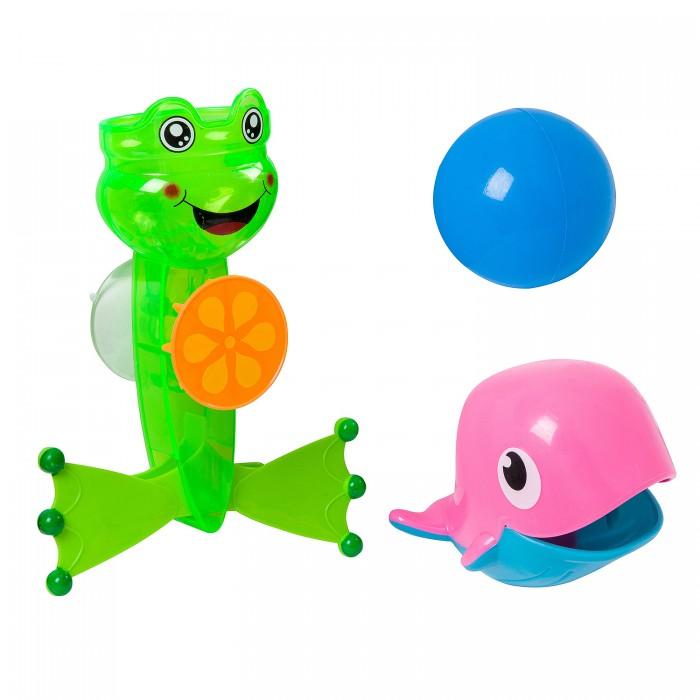 Картинка для Игрушки для ванны Bondibon Игрушка для купания Лягушка-мельница