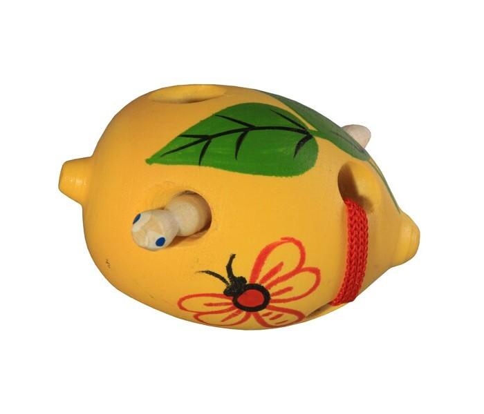 Картинка для Деревянные игрушки RNToys Лимон шнуровка
