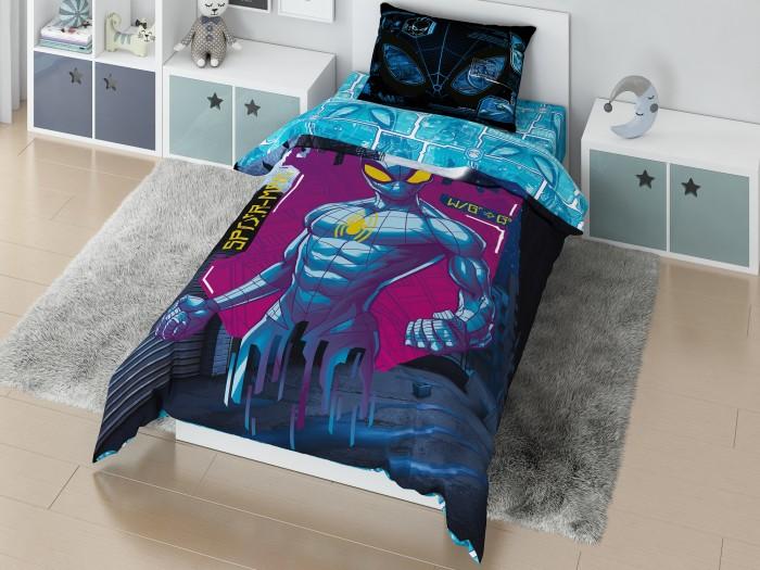 Купить Постельное белье 1.5-спальное, Постельное белье Марвел (Marvel) 1.5 спальное Мстители Spidermen matrix наволочка 50х70 (3 предмета)