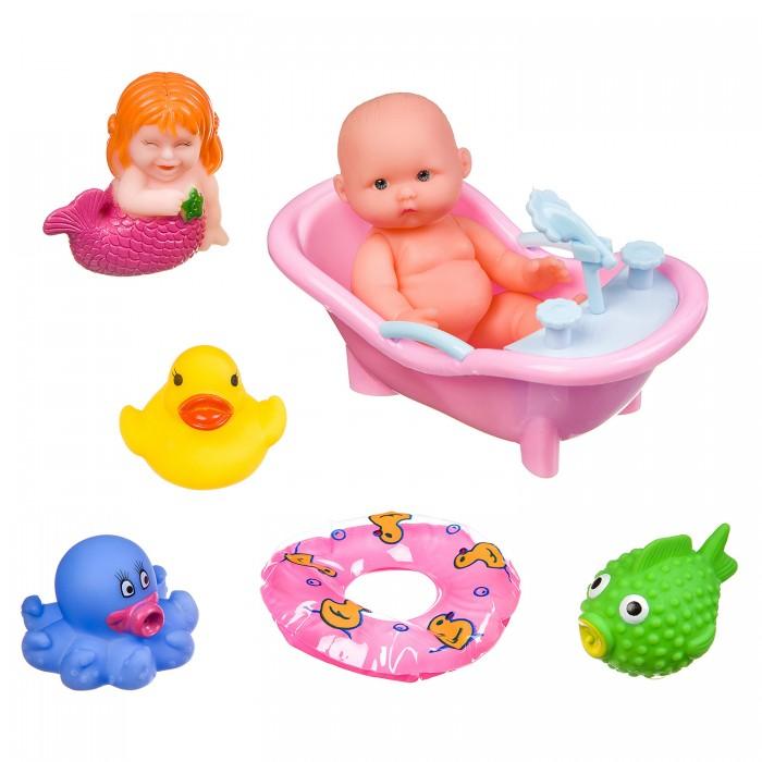 Картинка для Игрушки для ванны Bondibon Набор игрушек для купания ВВ3365