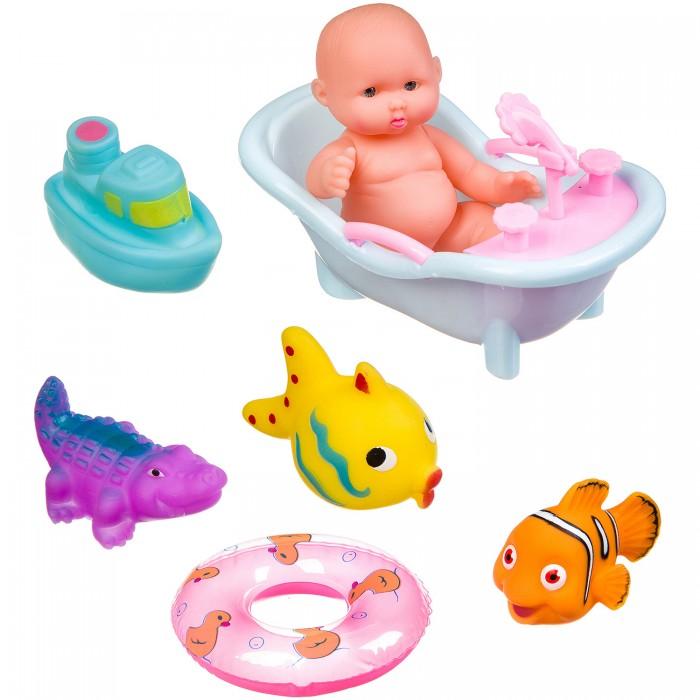 Картинка для Игрушки для ванны Bondibon Набор игрушек для купания ВВ3366